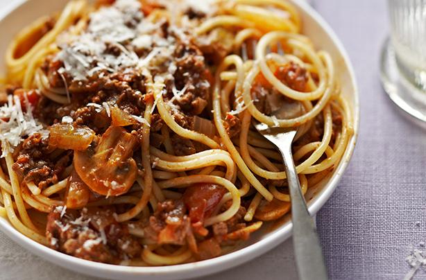 Image result for spaghetti bolognese