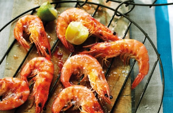 Image result for barbecue king prawns