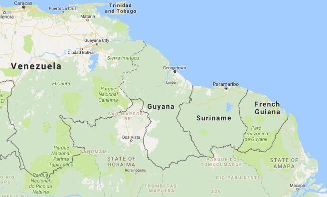 Guyana Communitybased Tourism Partnership In Development The - Where is guyana