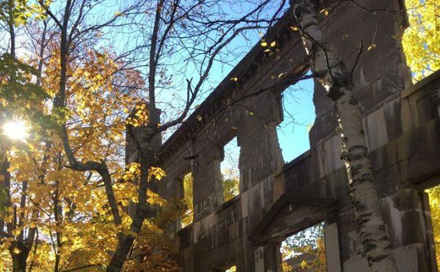 abandoned Overlook Hotel near Woodstock, NY