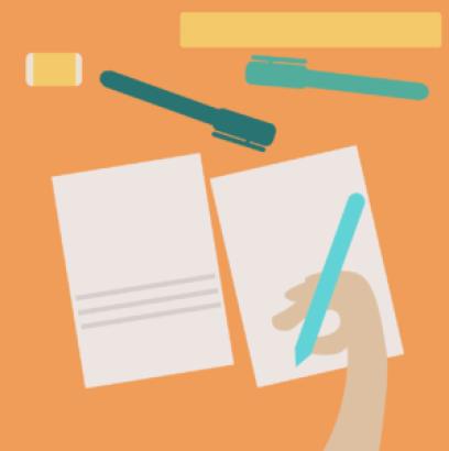 spisywane na kartce potrzebne dokumenty do wyceny