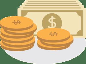 pieniądze - koszty utrzymania biura
