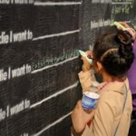 """before I die"" dream wall online"