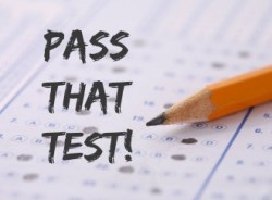 using law of attraction to pass the test