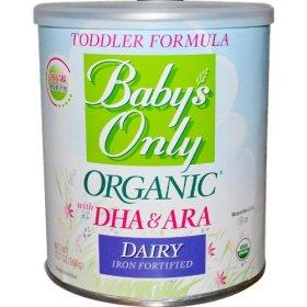 Baby's Only Organic Dairy DHA & ARA 6 pk