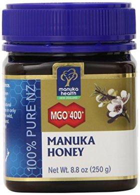 MGO 400+ MANUKA HONEY 100% Pure by Manuka Health New Zealand Ltd. – 8.8oz jar