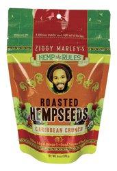 Ziggy Marley's Hemp Rules Organic Roasted Hempseeds Caribbean Crunch — 6 oz
