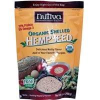 Nutiva Nutiva, Organic Shelled Hempseed, 13 oz (368 g)