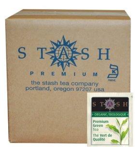 Stash Tea Organic Green Tea Bags in Foil, Premium, 100 Count
