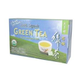 Prince of Peace 100% Organic Green Tea 100 Tea Bags Net Wt. 7.04 oz (200 g)