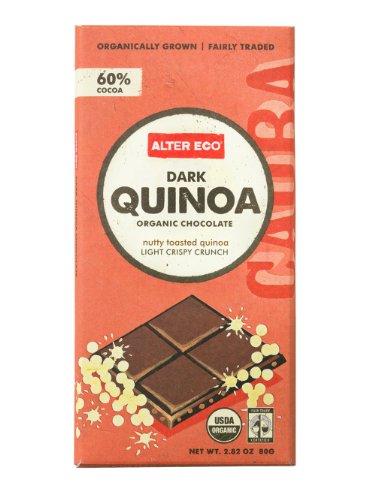 Alter Eco – Dark Quinoa Organic Chocolate – 2.82 oz