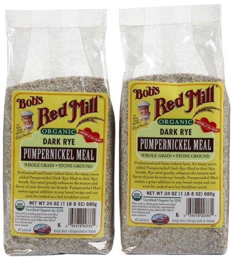 Bob's Red Mill Organic Rye Meal Pumpernickel 24 ozs