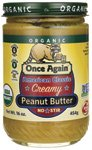 Once Again Peanut Butter American Classic Smooth — 16 oz