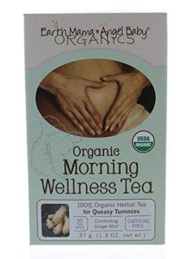 Earth Mama Angel Baby Organic Morning Wellness Tea, 16 teabags