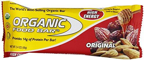Organic Food Bar, Original Bars, 68 gm (Pack of 12)