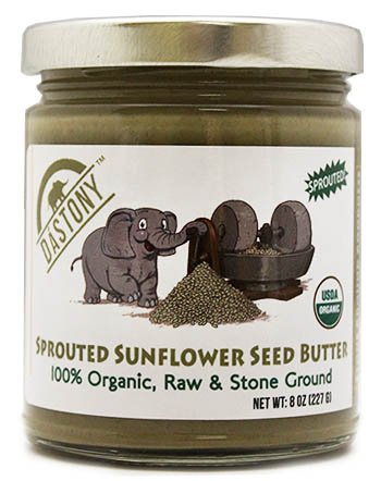 Windy City Organics Dastony Sprouted Sunflower Seed Butter — 8 oz