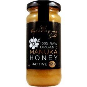 100% Raw Organic Manuka Honey Active 12 11.5 oz Jar