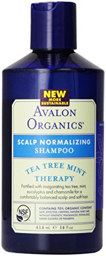 Avalon Organic Botanicals Shampoo, Tea Tree Mint, 14 Fl Oz