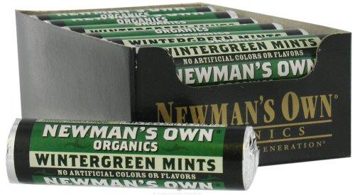 Newman's Own Organics – Wintergreen Mints Roll – 12 Piece(s)