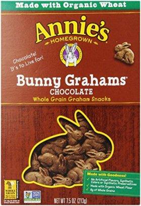 Annie's Homegrown Bunny Grahams, Chocolate, 7.5 Oz