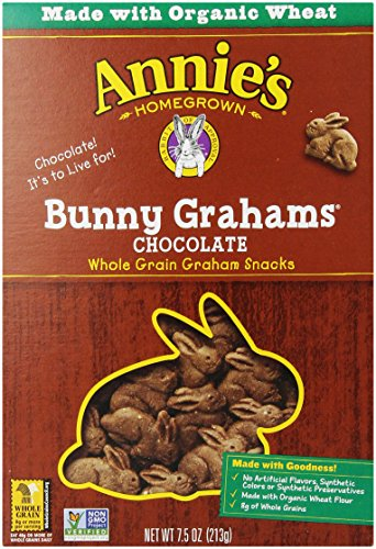 Annie's Homegrown Bunny Grahams, Chocolate, 7.5 Oz