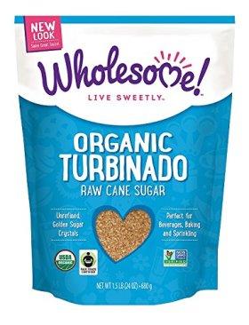 Wholesome Sweeteners, Organic Turbinado Sugar, 24 Oz