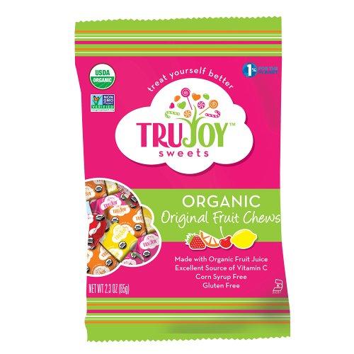 TruJoy Sweets Organic Original Fruit Chews — 2.3 oz