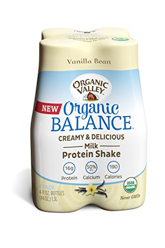 Organic Valley Balance, Vanilla Bean, 11 Ounce (Pack of 4)