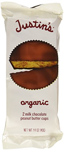 Justin's Nut Butter Organic Milk Chocolate Peanut Butter Cups – 1.4 oz