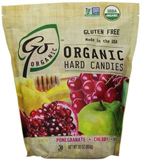 GoNaturally Organic Assorted Gluten Free Hard Candies, 30-Ounce Bag