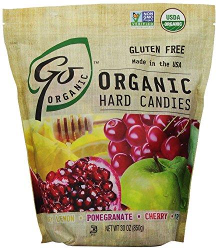 GoNaturally Organic Assorted Gluten Free Hard Candies, 30-Ounce Bag