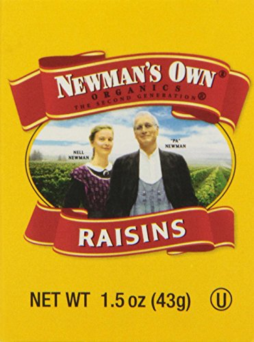 Newman's Own Organic California Raisins, 6 Count