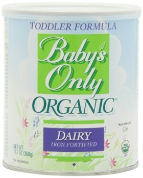 Baby's Only Organic Dairy Formula, 12.7 oz.