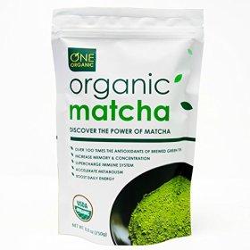 ONE ORGANIC Matcha Green Tea Powder 8.8oz – USDA Certified Organic