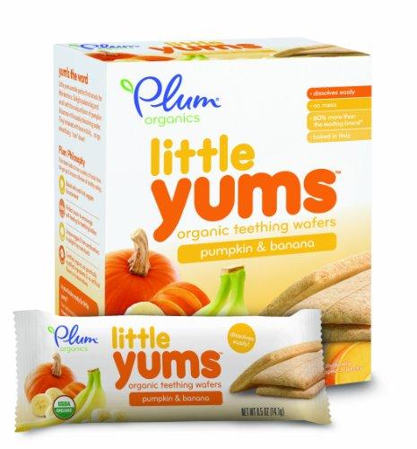 Plum Organics Little Yums – Pumpkin Banana, 3.0 oz