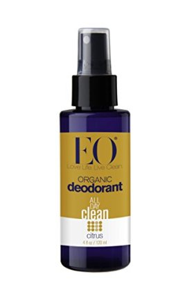 EO Organic Deodorant Spray, Citrus, 4 oz