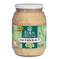 Eden Foods Organic Sauerkraut Glass (3×32 OZ)