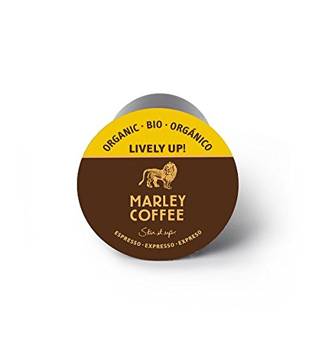 Marley Coffee, Lively Up!, Organic Espresso Roast, 24 Single Serve RealCups