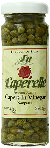 Caperelle Capers Nonpareil, 3.5-Ounce Jars (Pack of 12)