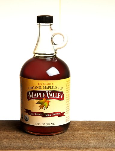 Organic Maple Syrup – Grade B, 33oz Round Glass
