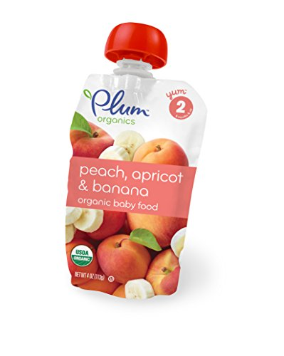 Plum Organics Second Blends, Peach Apricot Banana, 1 Count