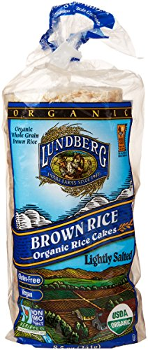 Lundberg Organic Rice Cakes, Brown Rice, 8.5 Oz