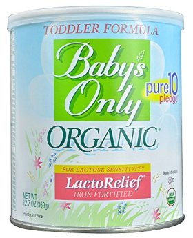 Baby's Only LactoRelief Toddler Formula – Powder – 12.7 oz – 6 pk