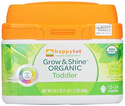 Happy Tot Grow & Shine Organic Toddler Milk, 23.2 Ounce