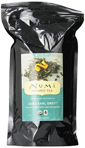 Numi Organic Tea Aged Earl Grey, Italian Bergamot Black Tea, Loose Leaf, 16 Ounce Bag