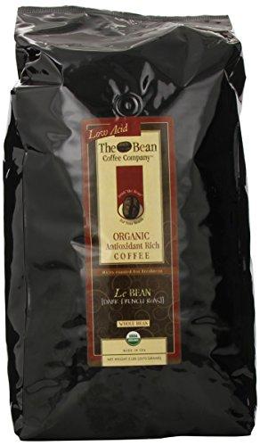 The Bean Coffee Company, Le Bean (Dark French Roast), Whole Bean, 5-Pound Bags