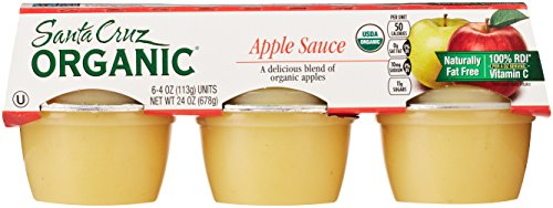 Santa Cruz Organic Applesauce (6 Count, 4 Oz Each)