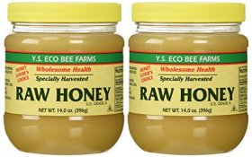YS Organic Bee Farms – Healthy Honey (Raw) – 14 oz. (Pack of 2)