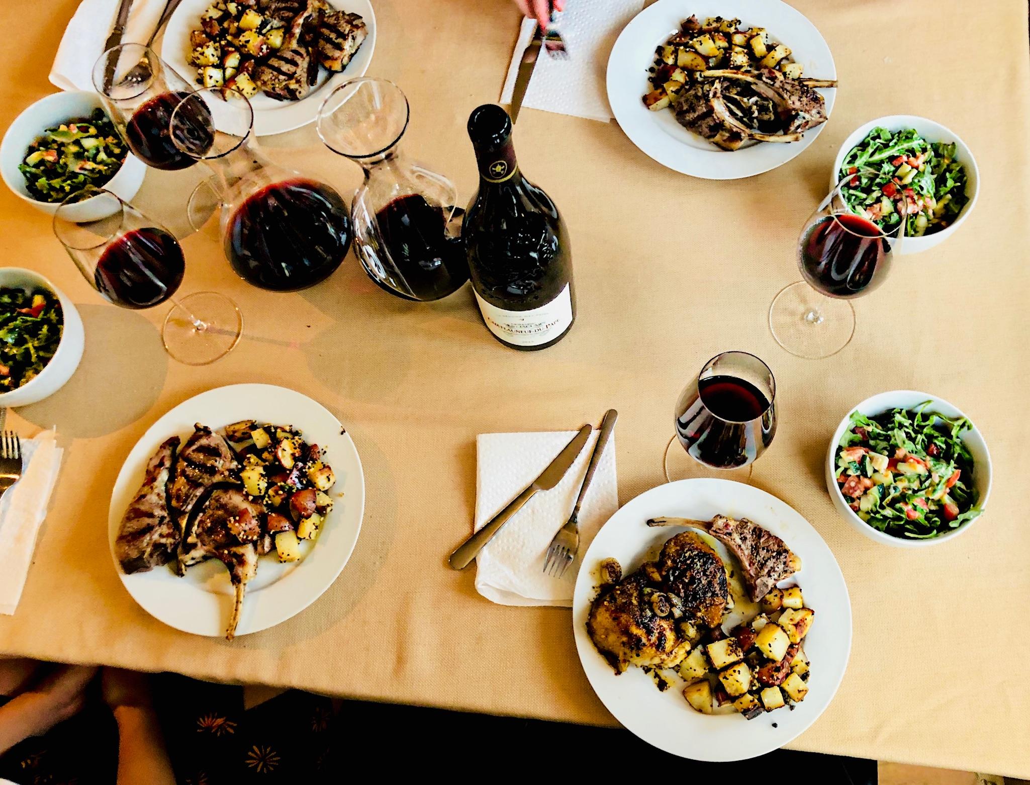 Try this Wine: Contrasting Food & Wine Pairings