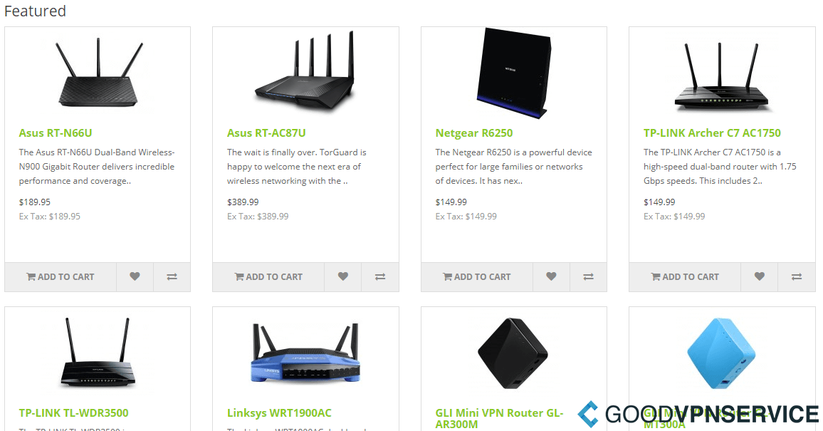 Routers - TorGuard